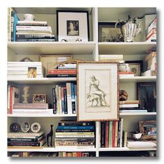 Lessons In Design :: Bookshelf Styling