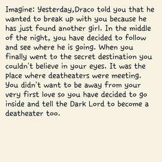 14|Fangirl| I love Tom Felton/Draco Malfoy Harry Potter ⚡ Draco Malfoy  Imagines