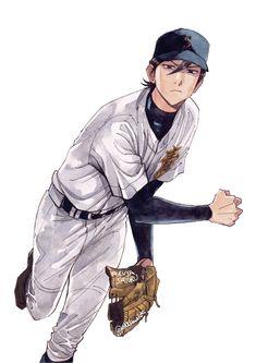 Haikyuu Fanart, Haikyuu Anime, Character Design Animation, Character Art, Diamond No Ace, Baseball Anime, Really Cool Drawings, Dark Anime Guys, Drawing Poses