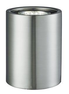 EU3531SS Uplighters - stolná LED lampa - strieborný kov