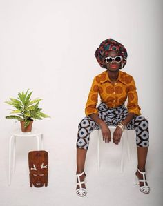 "FAB Lookbook: London-Based Brand Mazel John Unveils African Inspired ""Eve Collection"""