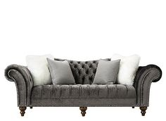 Tips That Help You Get The Best Leather Sofa Deal. Leather sofas and leather couch sets are available in a diversity of colors and styles. A leather couch is the ideal way to improve a space's design and th Living Room Update, Living Room Sets, Living Room Decor, Den Decor, Sofa Deals, Leather Living Room Set, Provincial Furniture, French Sofa, Quality Sofas