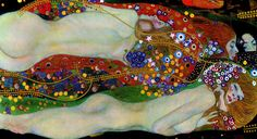 klimt / Water Serpents II (1907)