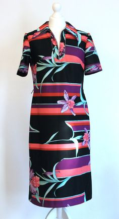 f9180576b4 Items similar to 70s large orchid dress