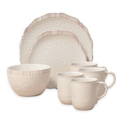 Product Image for Pfaltzgraff® Chateau 16-Piece Dinnerware Set in Cream 1 out of 2