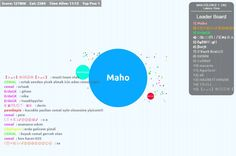 I Playing kralagario.com
