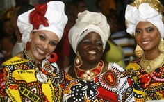 Women in Bahia, Brazil: 38% of Africans from Trans Atlantic Slave trade ended up in Brazil.