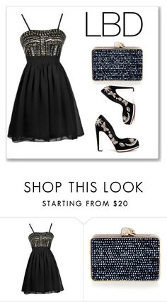 """""""Untitled #22"""" by serenad96 ❤ liked on Polyvore featuring Wilbur & Gussie and Alexander McQueen"""