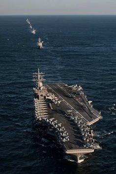 Us Navy Aircraft, Navy Aircraft Carrier, Military Aircraft, Navy Military, Military Photos, Poder Naval, Uss Ronald Reagan, Civil Air Patrol, Navy Carriers