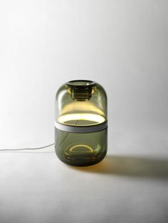 DEMI LAMP, le verre soufflé en lumière