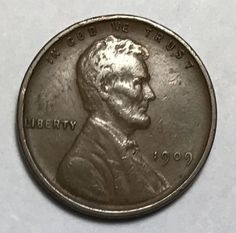 1909-VDB Lincoln Cent in EXTREMELY FINE Condition. *KEY DATE* Us Coins, Rare Coins, Valuable Coins, Key Dates, Pennies, Coin Collecting, Awesome Stuff, Postage Stamps, Lincoln