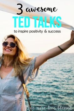 Ted Talks will inspire you to be positive and successful. boost your self confidence, how to be more positive, secrets of success.