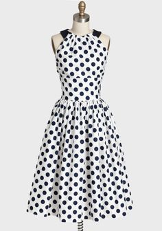 Very cheerful polka dots. Olivia Dress By Queen Of Heartz at #Ruche @Ruche