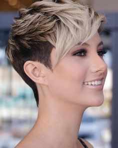 pixie hairstyles 58 Pixie Cut Hairstyles That Will Inspire You to Go Short These trendy Hairstyles ideas would gain you amazing compliments. Check out our gallery for more ideas these are trendy this year. Popular Short Hairstyles, Short Pixie Haircuts, Short Hairstyles For Women, Stylish Hairstyles, Short Hair Cuts For Women Over 40, Tomboy Hairstyles, Fashion Hairstyles, Short Haircut, Hairstyles Haircuts