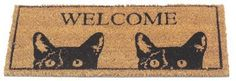 Gardman 8502 20-Inch by 9-Inch Peeping tom Easy Change Doormat Insert by Gardman. $13.43. 20-Inch by 9-Inch. Doormat insert for the Easy Change Base Mat (3171-2011). Simply drop into base mat to give a new look instantly. Peeping Tom design. PVC backed coco fiber. Gardman usa 8502 20-inch by 9-inch peeping tom easy change doormat insert