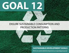 Proposal for Sustainable Development Goals ... Ensure Sustainable Consumption, Recycling, and Production Patterns -Sustainable Development Knowledge Platform