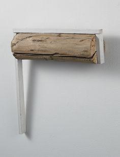 Kishio Suga . 1989 Mono Ha, Artistic Installation, Art Archive, Cabinet Makers, Art Object, Abstract Sculpture, Wood Design, Wood Grain, Interior And Exterior
