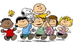 Snoopy,Charlie Brown,Luci,Mercy,Linus....