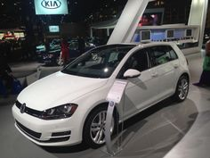 Larry Roesch Volkswagen at the 2014 Chicago Auto Show!