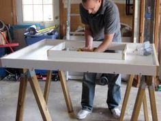 After cutting the mold, attach the sides cut to the desired thickness.