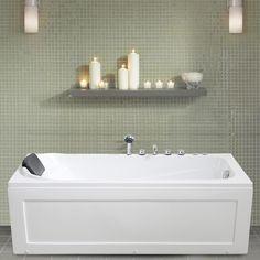 PureScape™ 174A-Black, la vasca da bagno freestanding Aquatica in ...