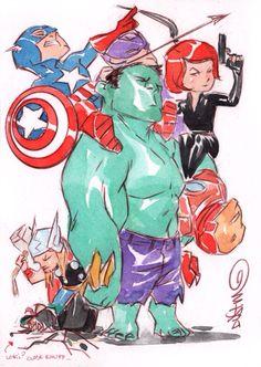 Super Hero's unite