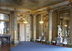 """The Pillar Hall - Stockholm Palace is located on Stadsholmen (""""city island""""), in Gamla Stan (the old town) in the capital, Stockholm."""