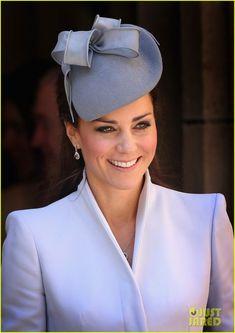 Kate Middleton Definitely Wins Easter Sunday's Best Dressed! | Kate | Duchess Of Cambridge | #loveofhats #katemiddleton #lovelykate #theduchess #duchessofcambridge #hatstyles #royaldesigns #royalfashion #royalhatstyles | www.wrapturedesign.com