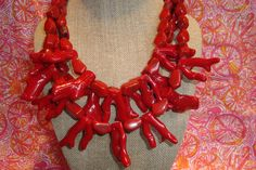 Red coral!! $40