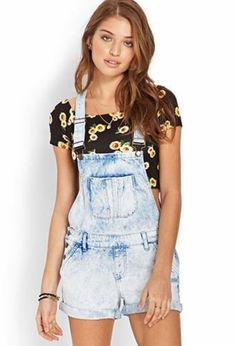 Trendy overalls outfits for summer and spring (67)