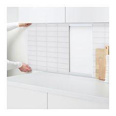 IKEA Wandpaneele Küche, z. B. FASTBO Wandpaneel doppelseitig/Blume ...