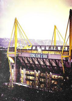 #EstadiosPorElMundo conoce los campos de las diferentes Ligas  Signal Iduna Park, Dortmund