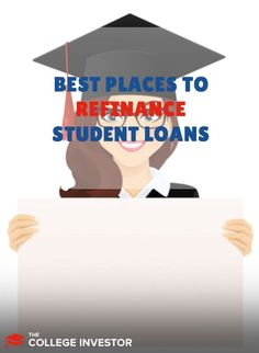 We break down the ten best places to refinance student loans - from banks to online lenders, comparing the perks, interest rates, qualification requirements, and more.  #studentloans #studentloandebt #debt #refinance Private Student Loan, Student Loan Debt, Student Loan Forgiveness, Interest Rates, Make More Money, Money Management, Personal Finance, The Borrowers, Banks