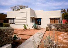Streamline Moderne House, Arizona.