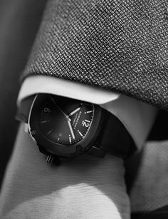 The Britain watch as seen in the new Burberry Travel Tailoring campaign