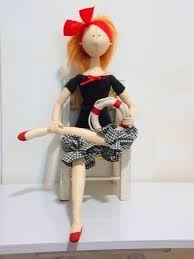 Resultado de imagen para bonecas de pano com moldes em tamanho natural