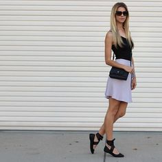Ballet-inspired outfit