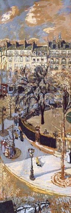 Édouard Vuillard - Place Ventimille Paris (1908)