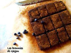 Brownies crus à la menthe