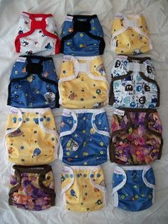 Simple Diaper-Sewing Tutorials: Newborn and One-Size FOE Cover pattern templates. Super easy!