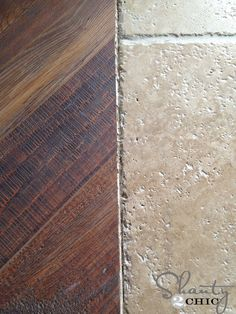 Hey guys! I'm back to share how I installed our new laminate flooring! If you missed the previous posts about my selection process, you can check them out HERE and HERE! You may remember the sneak peak I shared with you last week! Yes, it's laminate and it's easy to install DIY style We put {...Read More...}