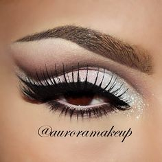 I like this. I love playing around with different looks. Depends on my mood @MaquillateconAurora GB