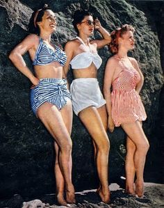 Glamourdaze Vintage Swimwear Revisited – Swimsuits of the 1940′s and 1950′s | Glamourdaze
