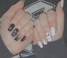 Acrylic Nail Designs Coffin, Acrylic Nails Coffin Short, White Acrylic Nails, Best Acrylic Nails, Coffin Acrylics, Pastel Nails, White Coffin Nails, White Nail, Summer Acrylic Nails