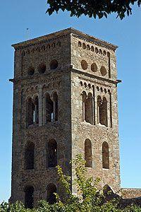 Sant Pere de Rodes.- El campanar