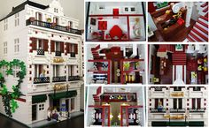 Lego Modular Hotel - Collage | Flickr - Photo Sharing!