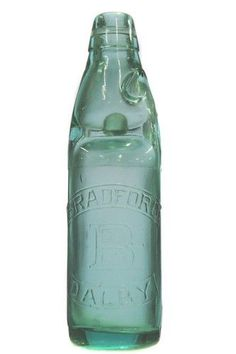 Codd - 13oz. Codd patent - deep aqua/blue - 'Bradford, Dalby' - initial t/m - a magnificent example with minor… / MAD on Collections - Browse and find over 10,000 categories of collectables from around the world - antiques, stamps, coins, memorabilia, art, bottles, jewellery, furniture, medals, toys and more at madoncollections.com. Free to view - Free to Register - Visit today. #Bottles #CoddMarble #MADonCollections #MADonC Bradford, Aqua Blue, Stoneware, Initials, Mason Jars, Bottles, Mad, Coins, Stamps