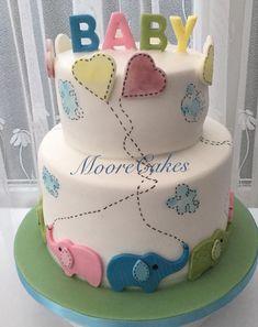 Elephant baby shower cake inspired by cake central Elephant Baby Shower Cake, Baby Elephant, Baby Shower Cakes, Cake Central, Birthday Cake, Desserts, Inspired, Elephant Baby, Birthday Cakes