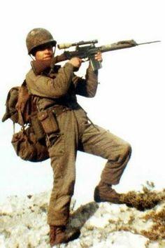 Argentine sniper, Malvinas