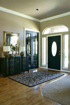 Dimples and Tangles: BLACK INTERIOR DOORS